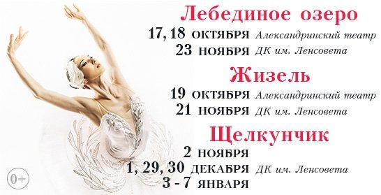 лебеди жизель щелкун окт-ноябрь НОВЫЙ 2016