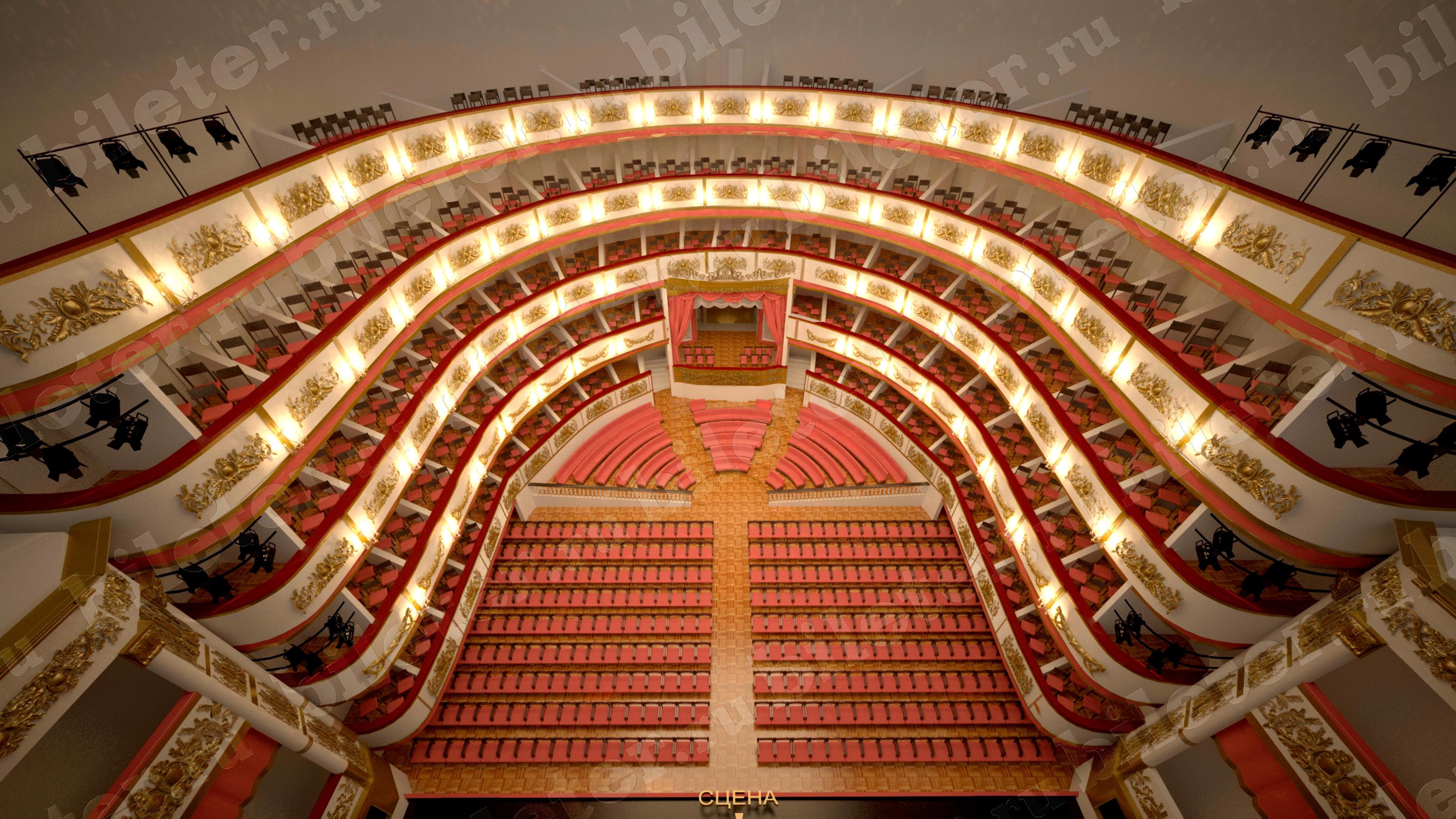 Александрийский театр новая сцена схема зала